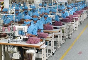 صناعة الملابس الجاهزة