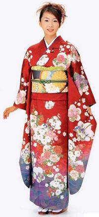 الكيمونو الياباني