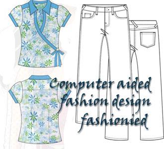تصميم الملابس بالكمبيوتر