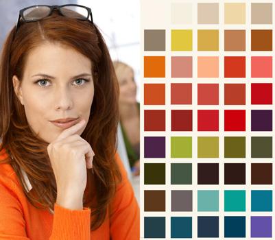 الألوان المناسبة لملابسك