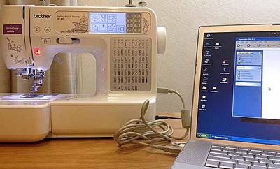 ماكينة الخياطة بالكمبيوتر