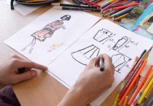 تعليم تصميم الازياء