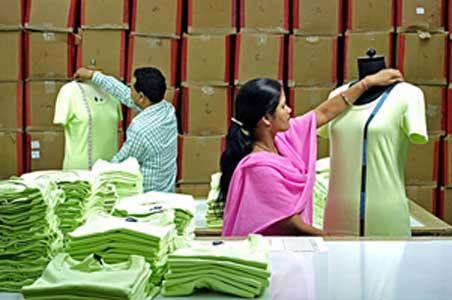 الجودة صناعة الملابس الجاهزة