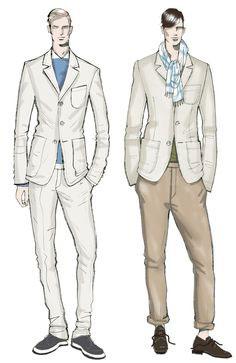 تصميم ملابس الرجال