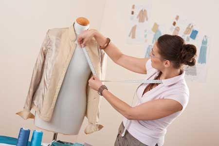 اعداد عينة الملابس