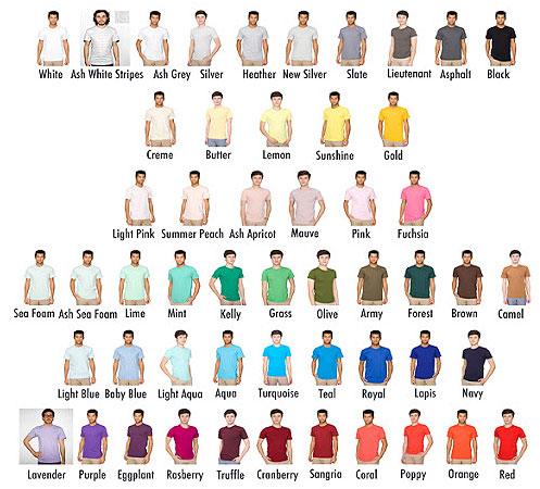 تأثير ألوان الملابس